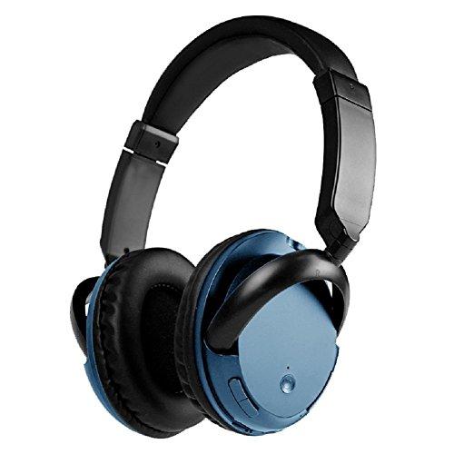 Deerbird® Hoch Fidelity Super Gemütlich Kabellos / Verdrahtet Dual-Modus Bluetooth Kopfhörer Headset mit Mikrofon Mobiltelefone Laptop Tablette TV Kopfhörer (blau)
