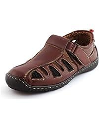 Albertiano Bello Men Sandal (brown Color)