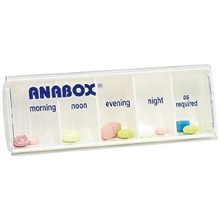 Anabox Daily Pillbox White