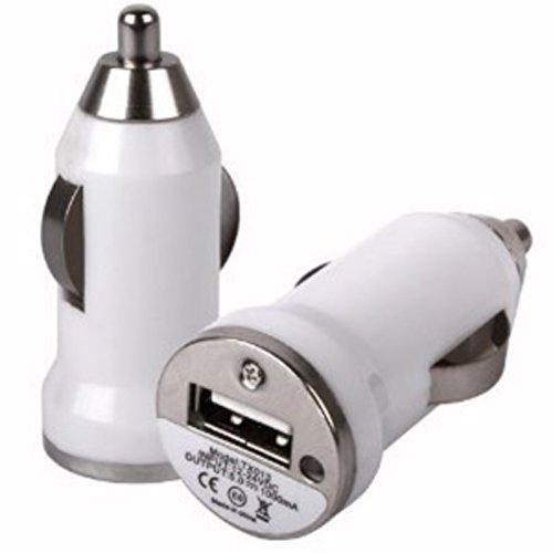 Xtra-Funky Esclusivo Proiettile forma di viaggi auto USB Charger Adapter per vari dispositivi mobili (vedi (Motorola Viaggi Adattatore)