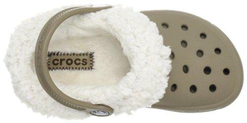 Crocs Mammoth EVO Clog Kids, Sabots mixte enfant Khaki/Oatmeal