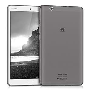 kwmobile Cover per Huawei MediaPad M3 8.4 - Custodia in silicone TPU tablet Copertina protettiva tab - Backcover Cover nero