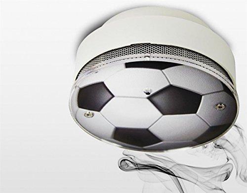 optischer Rauchmelder Fußball-Design - detectomat Design Rauchalarm