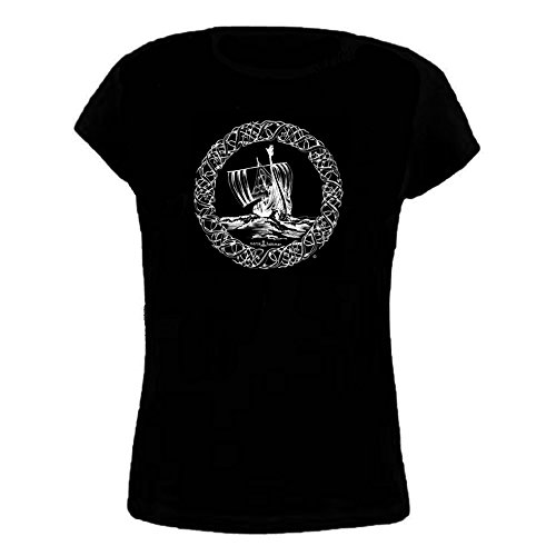Norse Hammer -  T-shirt - Donna nero L