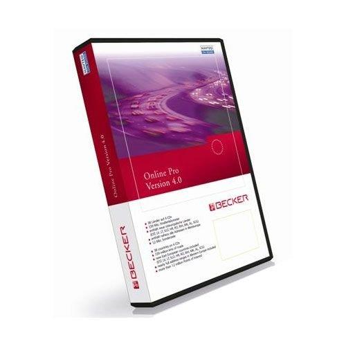 Becker Online Karten-Software CD-ROM für Navigationsgerät (Version 4.0, für Europa)