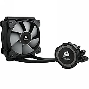 Corsair Hydro H75 CW-9060015-WW Sistema di Raffreddamento a Liquido per CPU, All-in-One High Performance, Radiatore da 120 mm, Nero