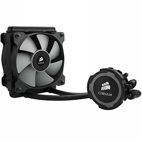 Corsair Hydro H75 - Sistema de Refrigeración Líquida (120mm Radiador, uno SP120 PWM Ventilador, All-in-One Liquid CPU Cooler)