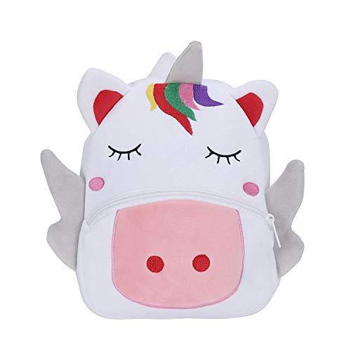 Mochila Kindergarten Animales Bolsa Escuela Dibujos Animados para niña y niño 1-3 años-Unicornio