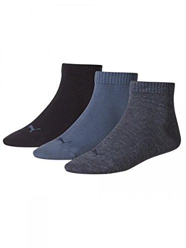 PUMA Socken Pack blau 35-38 (Drucken Logo Baumwolle)