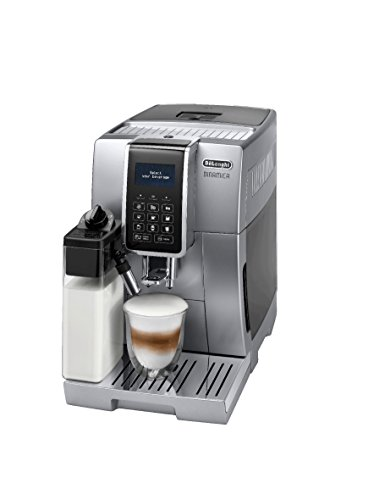 Delonghi ECAM 350.75.s Pod Coffee Machine 1.8L – Coffee (Freestanding, fully automatic, Pod Coffee Machine, Coffee Beans, Ground Coffee, Silver, Sensor)