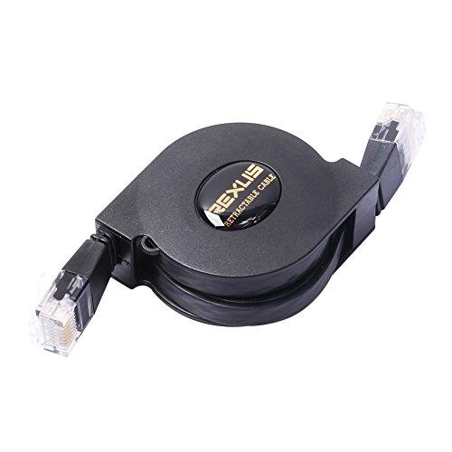 Demiawaking 1M / 2M 250 MHz Grand Cat 6 Ethernet Einziehbares Netzwerkkabel (2 M)