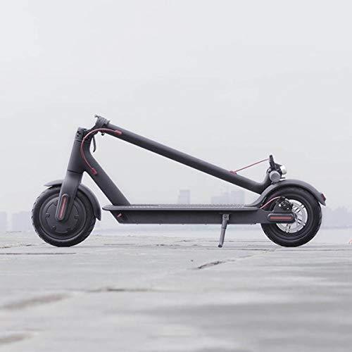 Motorisierte Roller (Chair Elektroroller Folding Lightweight Commuting Motorisierte Roller für Erwachsene Kinder, Max Geschwindigkeit 25KM / H, 8,5 '' Reifen,Black)