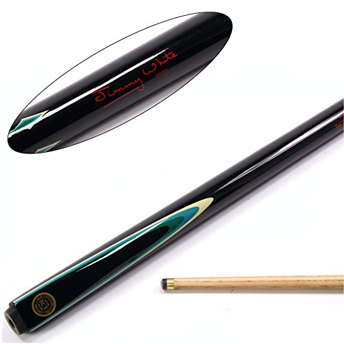 bce-jimmy-white-flare-2-piece-matching-ash-pool-snooker-cue-95mm-tip