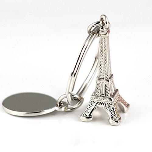 tische Paris Eiffelturm Schlüsselanhänger Ring Schlüsselanhänger Schlüsselanhänger 86046 ()