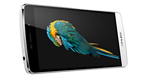 TP-Link Neffos C5 Max - Smartphone  Android 5 1  1920 x 1080 pixeles  13 MP  16 GB  configuraci  n de idioma solo en alem  n   blanco  importado de Al