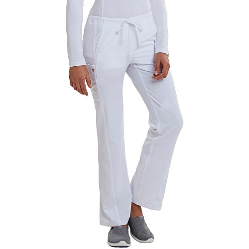 Careisma by Sofia Vergara CA100 Drawstring Pant White XL Tall - Cherokee Flare Uniform