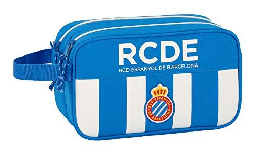 e99b74a1e Safta Neceser R.C.D. Espanyol Oficial Grande 260x125x150mm