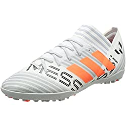 adidas Nemeziz Messi Tango 17.3 Tf, Zapatillas de Fútbol para Hombre, Multicolor (Ftwr White/Solar Orange/Core Black), 40 2/3 EU