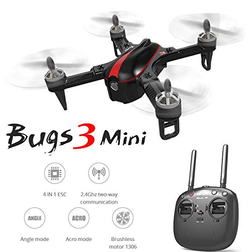 LanLan Accesorios del Drone, MJX B3 Mini Drones Quadrocopter 2.4G 6Axis Dron Quadcopter Brushless Quadcopter Control Remoto Helicópteros
