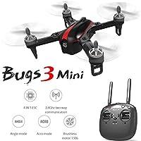 LanLan Giocattolo Telecomandato, Regalo Compleanno/Natale, MJX B3 Mini Droni Quadrocopter 2.4G 6Axis Motore Brushless