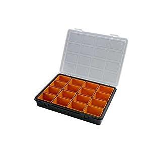Art Plast - Sortierkoffer für Kleinteile 24 x 19x H 3,7 cm -