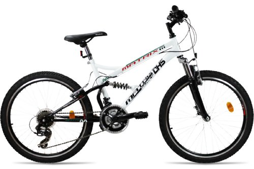MOUNTAINBIKE 26 ZOLL DHS M-STYLE VOLLGEFEDERT 21 GANG SHIMANO