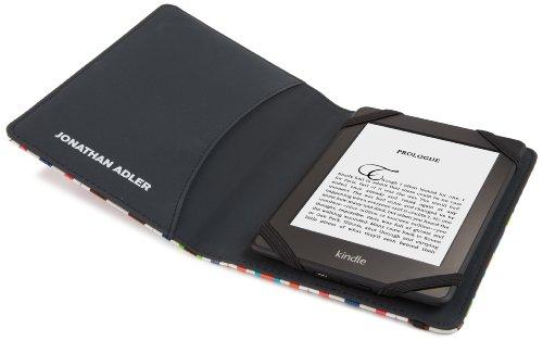 Jonathan Adler - Greek Key - Étui Kindle, Kindle Paperwhite et Kindle Touch, Vert Bargello Waves
