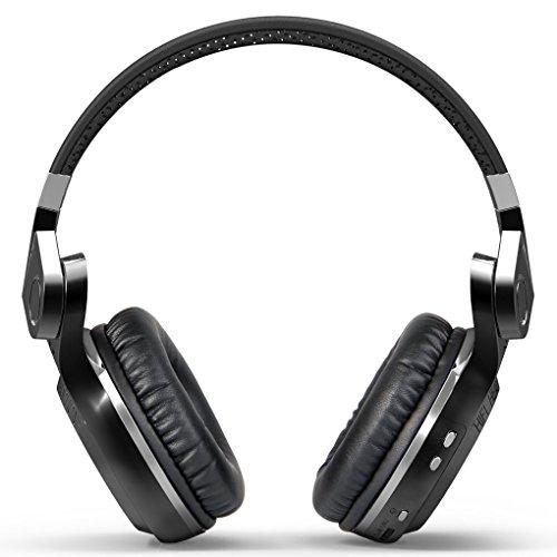 Bodbii Bluedio T2 Bluetooth 4.1 Cuffia Turbina Stereo Auricolare Senza Fili Pieghevole