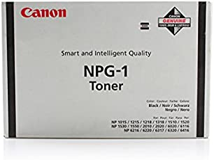 Canon NP 6317 - Original Canon 1372A005 / NPG-1 - Cartouche de Toner Noir (4 pieces) -