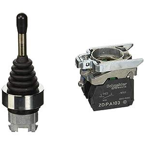 Schneider XD4PA22 Joystick, 2 Richtungen, Durchmesser 22, 3 Stellungen, mit Rückzug Nullstellung