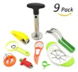 Fruit Slicer Set von 9