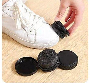 ABCMOS Zapatos Escobilla Cera Zapatos No Daña Cortex