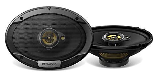 Kenwood KFC-S6976EX Ovaler 3-Wege-Lautsprecher schwarz