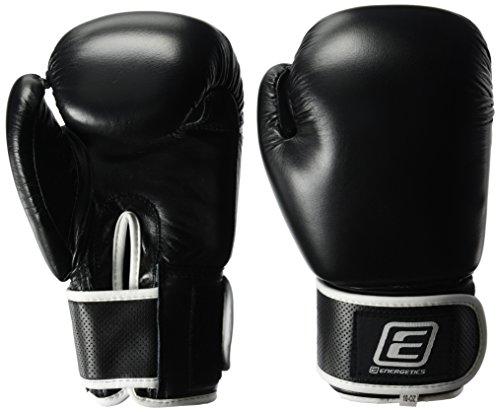 ENERGETICS Herren Boxhandschuhe, schwarz, 10 oz