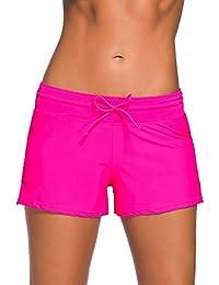 e73da89110cadd Socluer Damen Schwimmen Strand Rock Badeshorts Bikinihose Beach Shorts  Hotpants