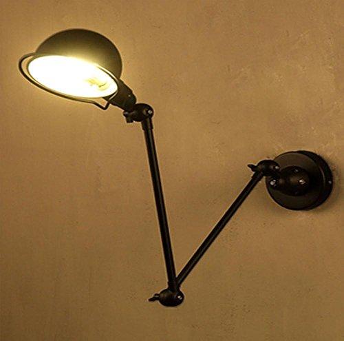 Dell'oscillazione Wall Light Braccio Retro Lampada da parete orientabile braccio