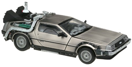 Soldat Toys Sun Star - Modelo a escala con diseño DeLorean Back to the future, 1:18 (909H2710)