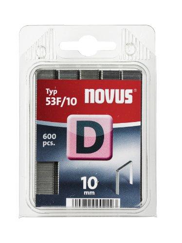 Novus 042-0376 D 53 F Pack de 600 Agrafes 10 mm 53F/12