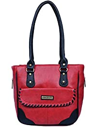 Fantosy Women Red And Black Charry Handbag Fnb-680