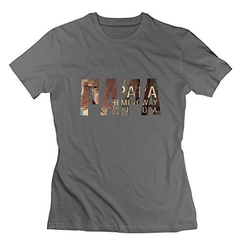 Nana-Custom Tees Damen T-Shirt Gr. L, Schwarz - Deep Heather