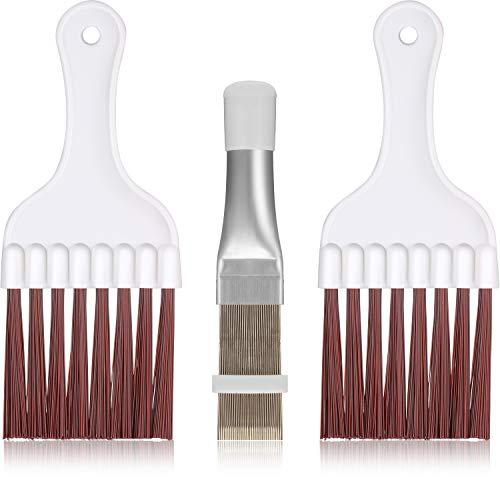 3 Stücke Klimaanlage Kondensator Flosse Reinigung Bürste,