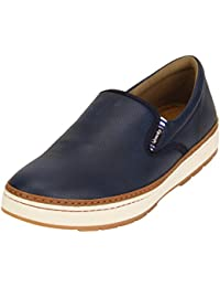 Quarks Men's Synthetic Slip On Smart Casual Shoes J1114