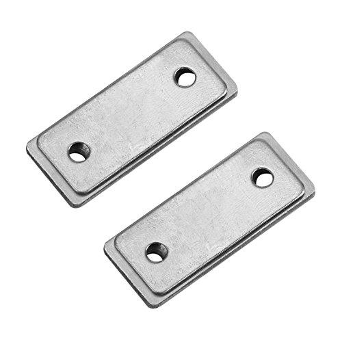 2 pzas de cierre de botón giratorio con cierre magnético fuerte para