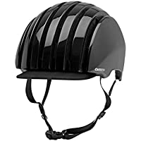 Carrera Crit Casco de Bicicleta, Color Black Shiny, tamaño Talla L