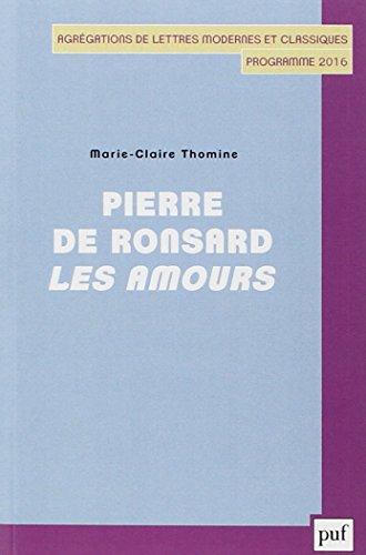 Pierre de Ronsard : Les Amours