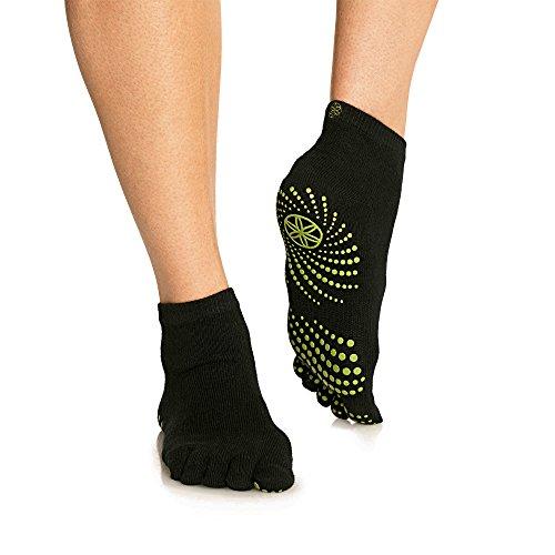 grippy-yoga-socks-fern-green-m-l