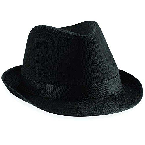 Beechfield Chapeau en feutre noir Noir L/XL