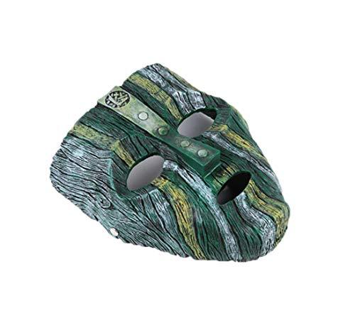 Cradifisho Sammelmaske Rocky (God of Prank) Maske, verkleidete Geek Maske, Maske, aus Harz, Maske der Prominente, Halloweenmaske, Karneval, Weihnachten, Ostern, Maske, Fette-Sammlung