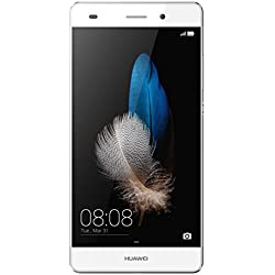 "Huawei P8 Lite Smartphone, Display 5"" IPS, Processore Octa-Core 1.5 GHz, Memoria Interna da 16 GB, 2 GB RAM, Fotocamera 13 MP, monoSIM, Android 5.0, Bianco [Italia]"