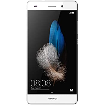 "Huawei P8 Lite Smartphone, Display 5"" IPS, Processore Octa-Core 1.5 GHz, Memoria Interna da 16 GB, 2 GB RAM, Fotocamera 13 MP, monoSIM, Android 5.0, Bianco [Italia]"